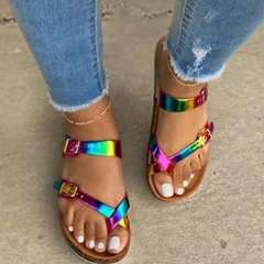 Sheilawears Fashion Button Summer Sandals