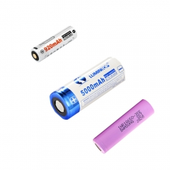 Lumintop Rechargeabe 26650 14500 Li-ion Battery Samsung 21700 18650 Battery