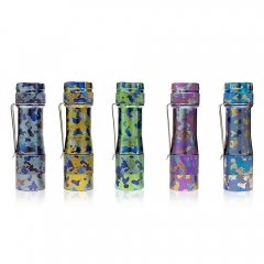 Lumintop FW3A FW3T Titanium Camouflage Limited Run LED Flashlight
