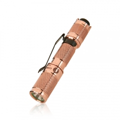 Lumintop Tool AAA Copper Brass 120 Lumens EDC Flashlight