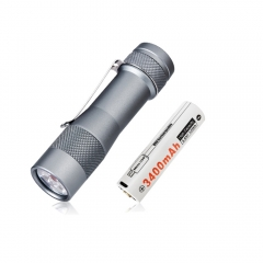 Lumintop FW3E 2800 Lumens EDC Flashlight With Customized 18650 USB Battery