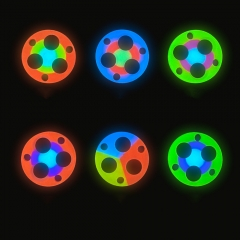 Turbo Glow Gasket for FW3A  EDC18 HL3A Tri-color Multi-color