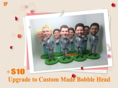 Upgrade the Standard Body Bobble Head To Custom Made Bobble Head