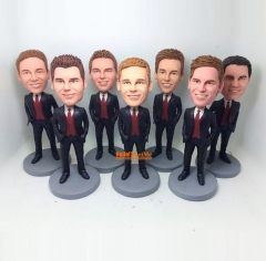 Best man bobble head groomsman gift custom bobble head Groomsman bobble head best man gift personalized bobblehead custom figurine