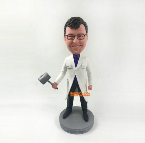 Doctor Bobblehead custom bobblehead Birthday Gift Christmas Gift personalized bobble head medical worker Bobble head