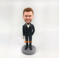 groomsmen gift Groomsmen bobble head Best man bobblehead custom bobble head groomsman gift custom figurine personalized bobblehead