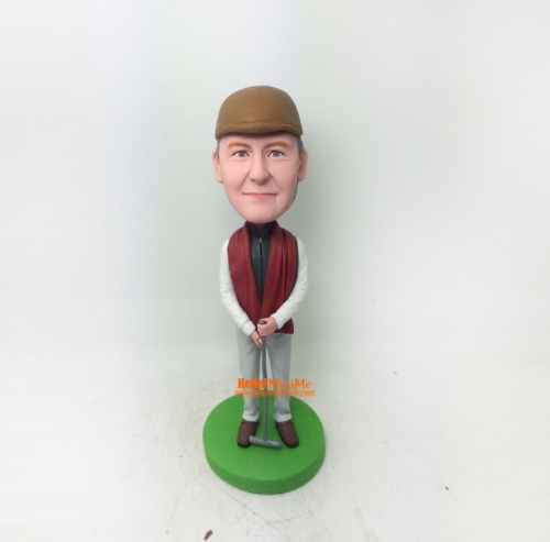 Croquet bobblehead Personalized bobble head Christmas gift custom bobble head custom figurine personalized gift Birthday gift custom bobble head