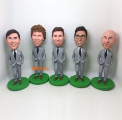 Personalized bobble head Best man bobble head groomsman gift custom bobble head Groomsman bobble head best man gift custom figurine