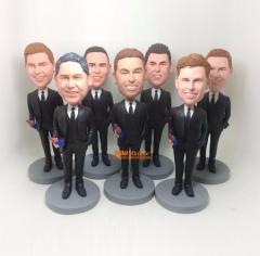 Groomsmen bobble head Best man bobblehead groomsmen gift custom bobble head groomsman gift custom figurine personalized bobblehead