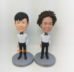 Ring bearers bobble head ring-bearers bobblehead ring-bearers gift custom figurine personalized bobblehead for ring bearers