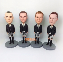 Groomsman bobble head Best man bobble head groomsman gift custom bobble head groomsmen gift personalized bobblehead custom figurine