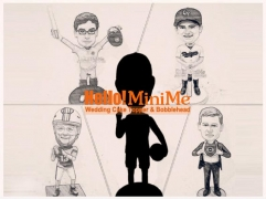 Fully custom made bobble head cake topper custom figurine Personalized gift custom cake topper