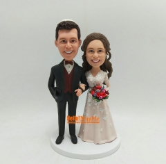 Custom cake topper wedding Bobblehead cake topper wedding topper custom wedding cake topper custom bobbleheads custom cake toppers