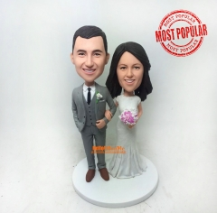 Custom cake topper Wedding Cake Topper wedding bobblehead wedding topper custom bobble head Custom cake toppers for Wedding