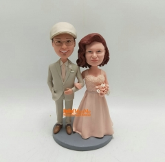 Cake topper Wedding Cake Topper Personalized wedding gift custom bobble head Custom cake topper Wedding topper wedding figurine