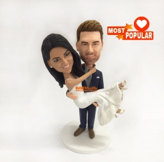Custom cake topper personalized wedding keepsake Wedding cake topper wedding topper wedding figurine custom bobble head custom figurine