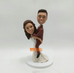 Wedding cake topper custom bobblehead custom cake topper wedding figurine cake topper wedding topper Cake Toppers for wedding gift