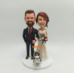 Cake Toppers for wedding Custom cake topper Wedding topper custom bobblehead wedding bobble head Custom Cake topper for wedding