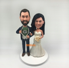 Custom Cake topper Wedding Topper custom bobble head custom wedding figurine Wedding topper Personalized wedding cake topper