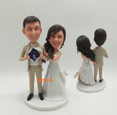 Cake toppers for wedding figurines custom cake topper wedding bobble head custom bobblehead custom cake topper wedding cake topper