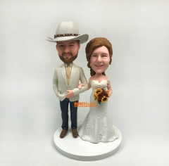 Cake topper Wedding Cake Topper Bobblehead Custom cake topper Wedding topper custom Bobble head custom Cake toppers for wedding