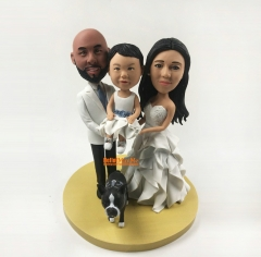 custom cake topper Kid bobble head custom bobble head Birthday Gift Christmas Gift Children cake topper wedding cake topper