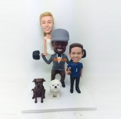 wedding cake topper Kid bobblehead custom bobblehead Birthday Gift Christmas Gift Children bobblehead custom cake topper