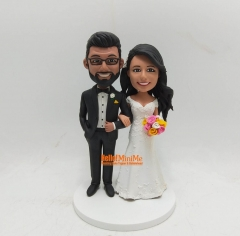 Bitmoji doll Custom cake topper personalized wedding keepsake Wedding cake topper wedding topper wedding figurine custom bobble head