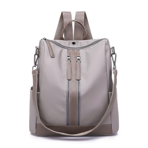 Women Backpack Earphone Hole Travel Shoulder Bag