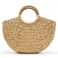 Straw Bag Handwoven Summer Beach Bags