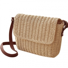 Handmade Straw Bag Women Crossbody bag