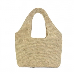 Straw Bags for Women Hand-woven Straw Purse