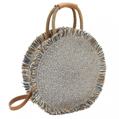 Weave Shoulder Bag Straw Bag