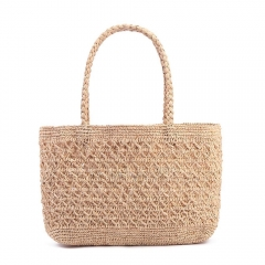 Summer Straw Woven Shoulder Bag  Wallet Ladies