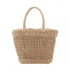 Large Capacity Straw Bag Women Handbag Bag