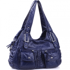 Shoulder Bag for Ladies Soft PU Leather Handbags