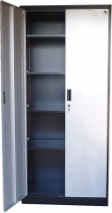 "Metal Storage Cabinet 71"" Tall, Lockable Doors and Adjustable Shelves, 70.86"" Tall x 31.5"" W x 15.75"" D, Great Steel Locker for Garage, Kitchen Pantry"