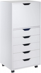 Wood Halifax Storage/Organization, White