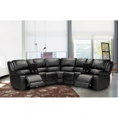 Symmertrical Reclining Sectional Sofa