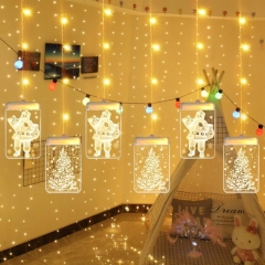 Christmas 3D Decorative Lights