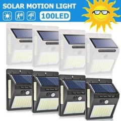 Split Solar 56 light split induction wall light Garage Light