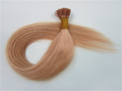 Straight 27# Ginger Blonde I-tip Hair Extensions 50Strands