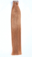 Straight 16# Beige Blonde Tape Hair Extensions 40PCS