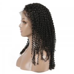 Kinky Curly Human hair Full Lace Wigs