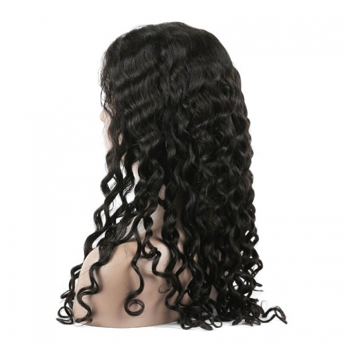 Water Wave Human hair Lace Front Wigs