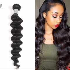 Peruvian Loose Curly Virgin Hair Weave