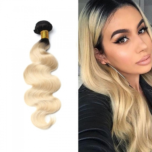 1B/613 Blonde Body Wave Virgin Hair Weave