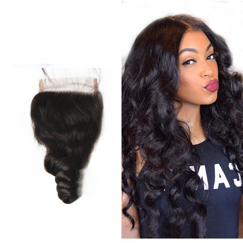 Brazilian Loose Wave Lace Closure 4x4