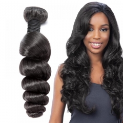 Peruvian Loose Wave Virgin Hair Weave