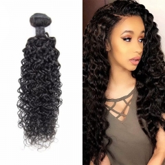 Water Wave Virgin Hair Weave 7A